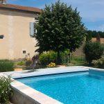 piscine chauffée sécurisée volet roulant gite dordogne perigord vacance