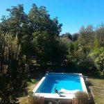 Grand jardin cloturé piscine chauffée privée sécurisée dordogne perigord vacance